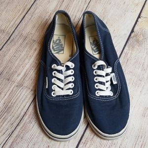 Vans Navy Blue Low Top Sneakers